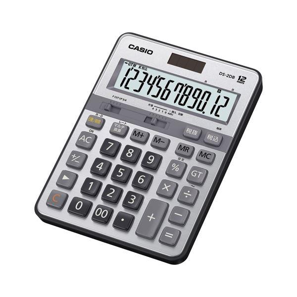 文具・オフィス用品関連 実務電卓 デスクサイズ 12桁 DS-2DB