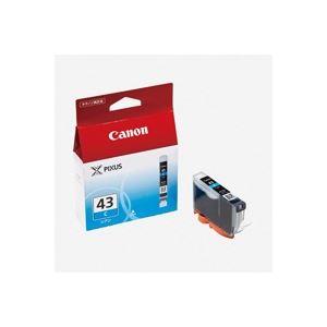 パソコン・周辺機器 (業務用40セット) キャノン Canon インクカートリッジ BCI-43C シアン 【×40セット】