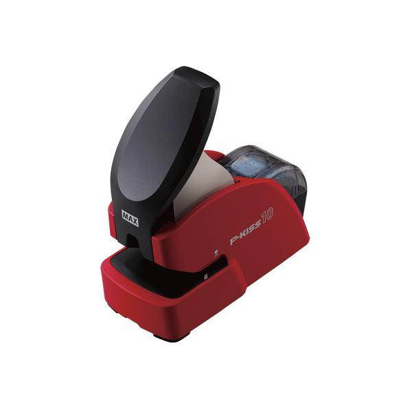 生活用品関連 紙針ホッチキス P-KISS PH-10DS レッド PH90007