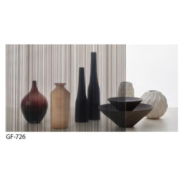 ストライプ 飛散防止 ガラスフィルム GF-726 92cm巾 4m巻
