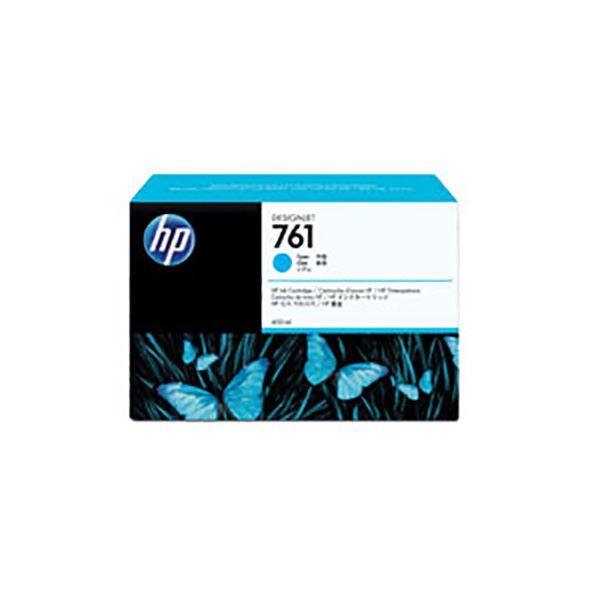 パソコン・周辺機器 【純正品】 HP CM994A HP761 インクカートリッジ シアン