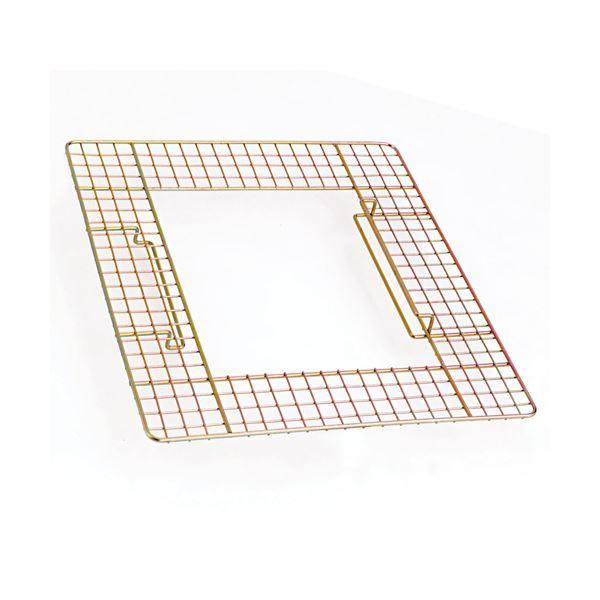 掃除用具 関連 (まとめ) テラモト 吸殻入れII用ワイヤーテーブル SS-258-500-0 1台 【×8セット】