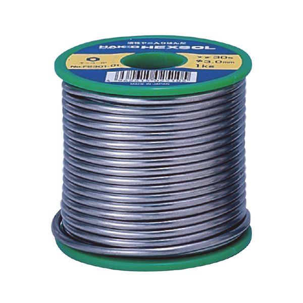 DIY・工具 手動工具 関連 白光 FS302-01 キッコー巻はんだSN60 1.0MM 1KG