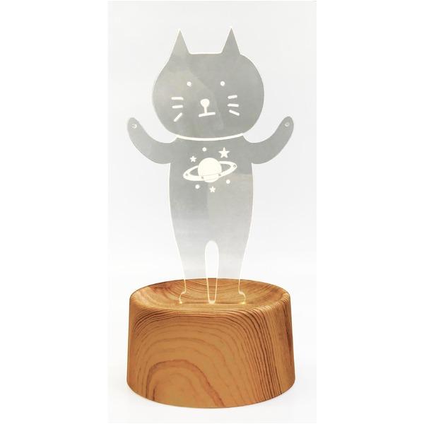 生活 雑貨 通販 【3個セット】 アクセサリースタンド/メガネ置き 【cat1】 音感センサー内蔵 『acrysta-las-』