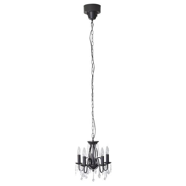 シャンデリアライト/ペンダントライト 【ブラウン】 LED電球対応可 LHT-703ABR