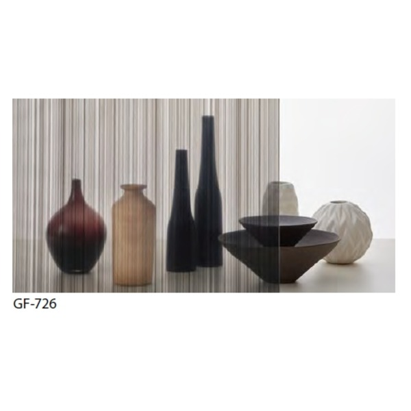 ストライプ 飛散防止 ガラスフィルム GF-726 92cm巾 9m巻