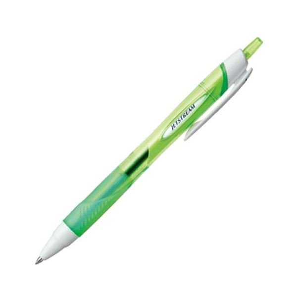 ペン・万年筆関連 (まとめ買い) 油性ボールペンジェットストリーム 0.7mm 黒 (軸色 緑) SXN15007.6 1本 【×30セット】