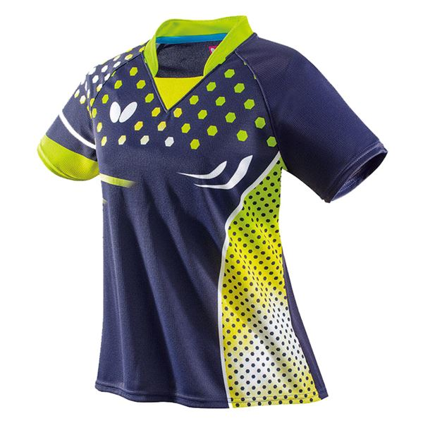 スポーツ用品・スポーツウェア 卓球用品 関連 卓球アパレル PATNARL SHIRT LADIES(パトナール・シャツ・レディース) 45479 ライム M