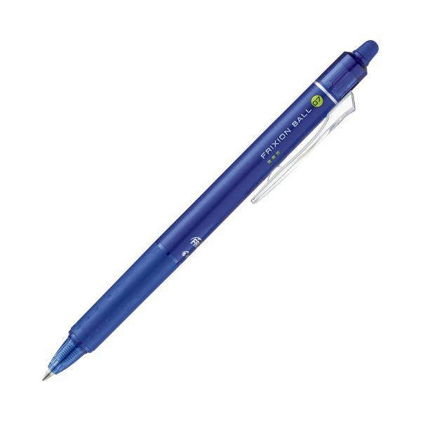 文具・オフィス用品関連 (まとめ) パイロット ゲルインキボールペンフリクションボールノック 0.7mm ブルー LFBK-23F-L 1本 【×30セット】
