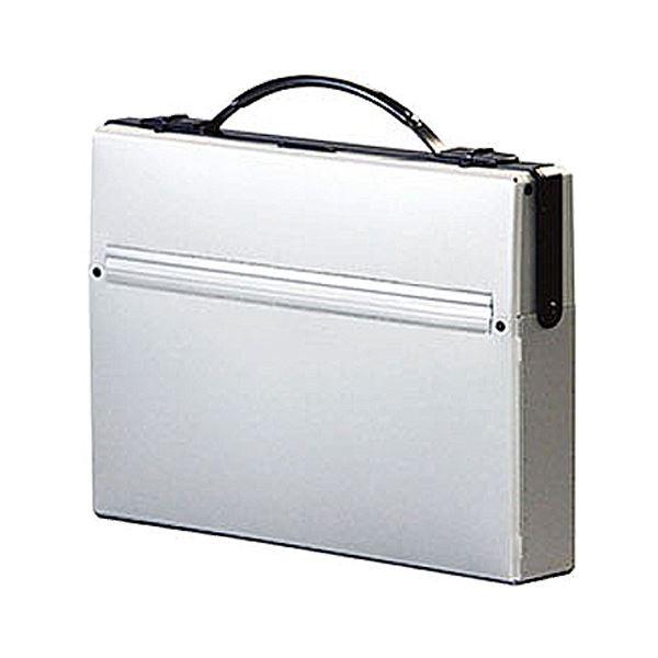 収納用品 マガジンボックス・ファイルボックス 関連 ダレスバッグ A4収納幅55mm シルバー A-660-26 1セット(5個)