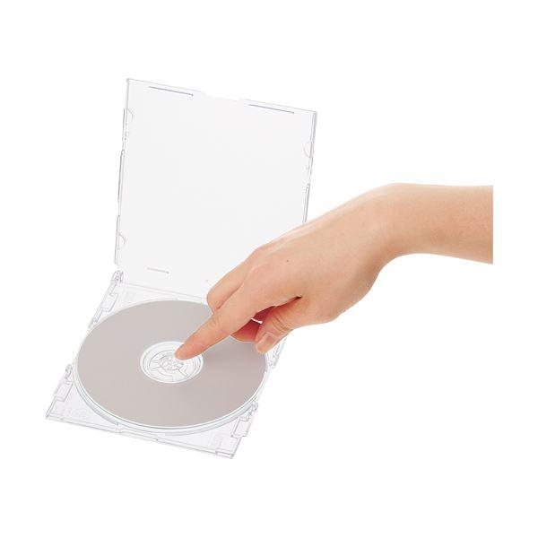 パソコン PC消耗品 記録用メディアケース CD・DVDケース 関連 (まとめ買い)明晃化成工業 スーパースリムCDケースクリア OT8-50P 1パック(50枚)【×3セット】