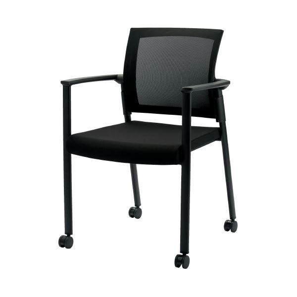 オフィス家具 オフィスチェア 高機能チェア 関連 会議イス SW-1602 ブラック