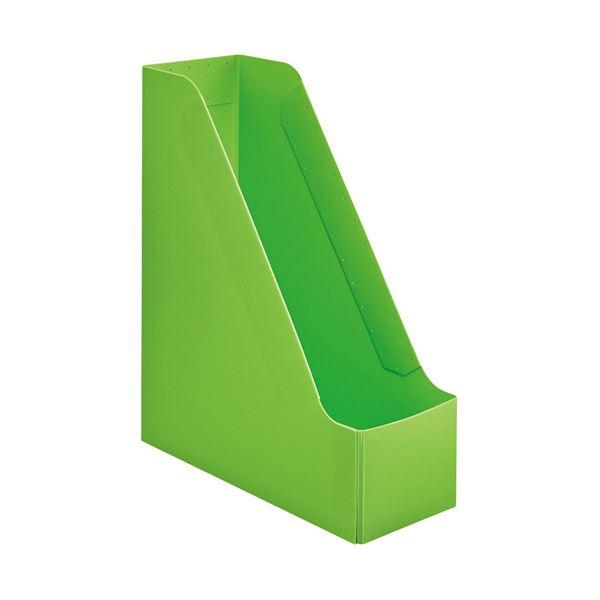 【洗顔用泡立てネット 付き】丈夫なPP製。 生活 雑貨 通販 (まとめ) TANOSEEPP製ボックスファイル(組み立て式) A4 タテ グリーン 1個 【×50セット】