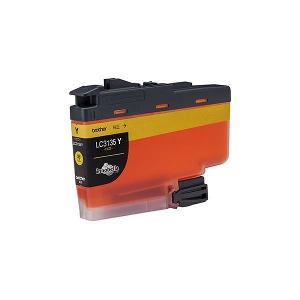 パソコン・周辺機器 PCサプライ・消耗品 インクカートリッジ 関連 【純正品】 ブラザー LC3135Y インク 超大容量 イエロー