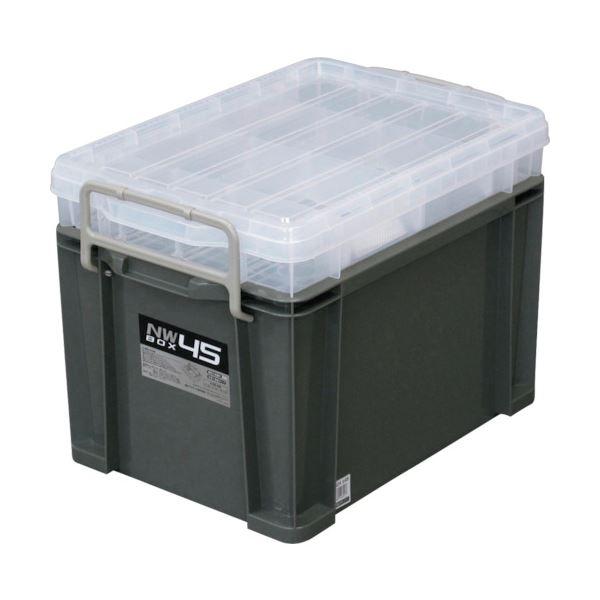 日用品・生活雑貨 関連 NWボックス #45 グレーNW-45GR 1個