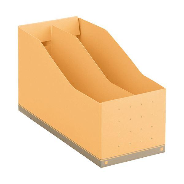 文具・オフィス用品関連 (まとめ)ボックスファイルA5ヨコ 背幅105mm 黄 BF-877 1個 【×10セット】