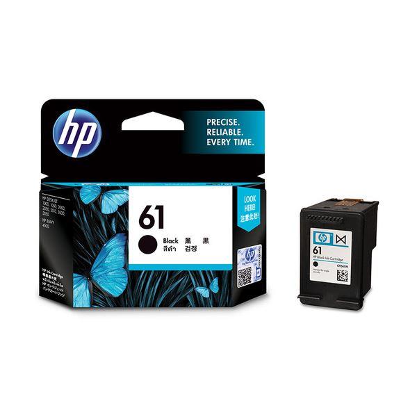 パソコン・周辺機器 PCサプライ・消耗品 インクカートリッジ 関連 (まとめ)HP61 インクカートリッジ 黒CH561WA 1個 【×3セット】