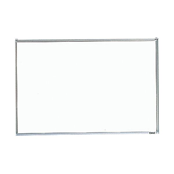 プレゼンテーション用品 掲示板・コルクボード 関連 壁掛スチールホワイトボードペントレー付き GH-142 1枚