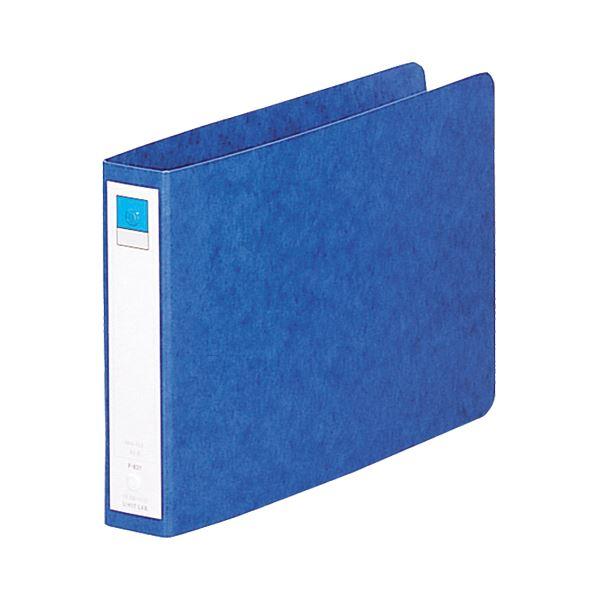 文房具・事務用品 ファイル・バインダー 関連 (まとめ)リングファイル A5ヨコ2穴 200枚収容 背幅35mm 藍 F-831 1冊 【×20セット】