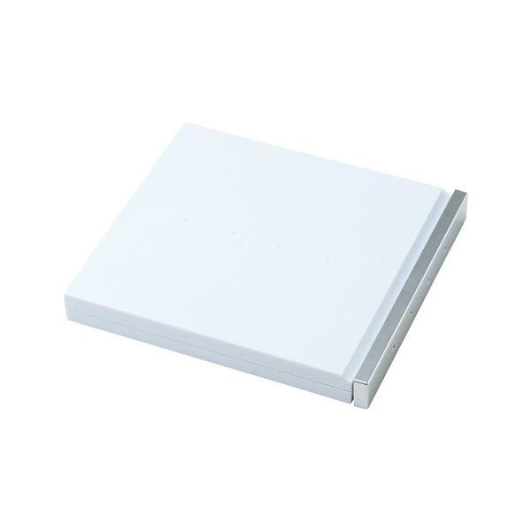 (まとめ買い)ブルーレイディスク対応ポータブルハードケース 8枚収納 ホワイト FCD-JKBD8W 1個【×5セット】