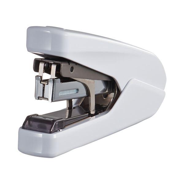 文具・オフィス用品 ホッチキス・ステープラー 関連 (まとめ)パワーフラット ホワイト HD-10DFL/W2【×30セット】