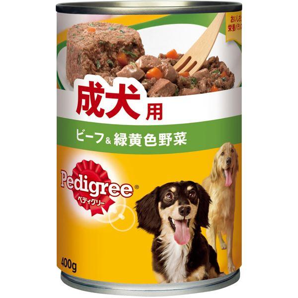 犬用品 ドッグフード・サプリメント 関連 (まとめ買い)成犬用 ビーフ&緑黄色野菜 400g【×24セット】【ペット用品・犬用フード】