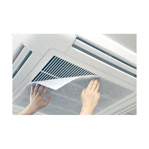 電化製品 季節家電(冷暖房・空調) 関連 (まとめ)クリタック 業務用エアコンフィルター 57 2枚入【×2セット】
