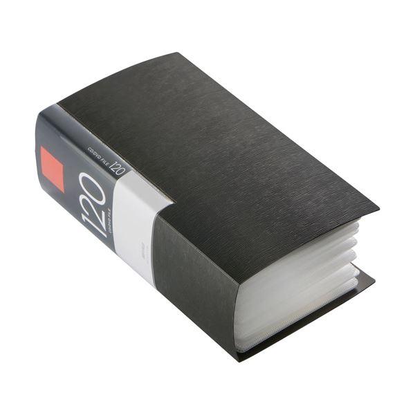 パソコン PC消耗品 記録用メディアケース BSCD01F120BK CD・DVDケース CD・DVDケース 関連 (まとめ買い)CD&DVDファイルケース ブックタイプ 120枚収納 120枚収納 ブラック BSCD01F120BK 1個【×5セット】, 三加茂町:4f16ad0c --- officewill.xsrv.jp