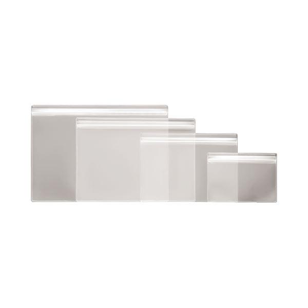 文房具・事務用品 ファイル・バインダー 名刺ファイル 関連 (まとめ)チャック式ソフトカードケース B7 透明 オレフィン B7-CT 1枚 【×50セット】