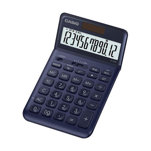 電卓 ネイビー 関連 電卓本体 関連 (まとめ買い)デザイン電卓 12桁ジャストタイプ JF-S200-NY-N ネイビー JF-S200-NY-N 1台【×2セット】, K.jewel:1fbc1f1f --- officewill.xsrv.jp