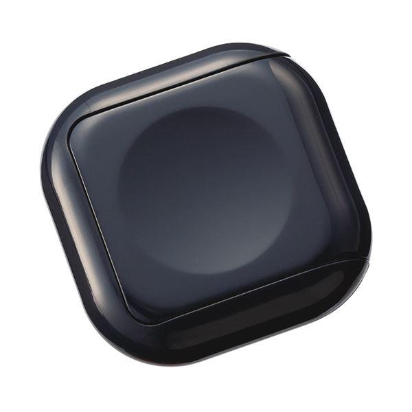 文具・オフィス用品関連 (まとめ) 朱肉 シュイングべべミッドナイトブラック SG-B07 1個 【×10セット】