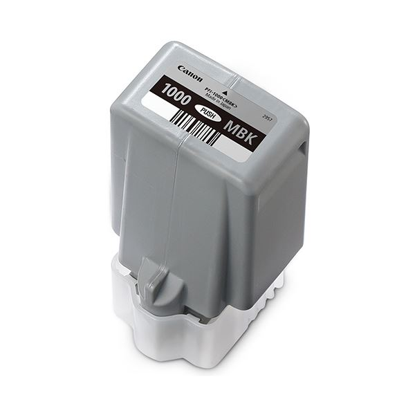 パソコン・周辺機器 PCサプライ・消耗品 インクカートリッジ 関連 インクタンクPFI-1000MBK マットブラック 80ml 0545C004 1個
