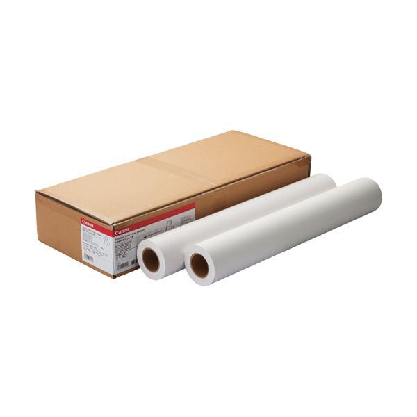 パソコン・周辺機器 PCサプライ・消耗品 コピー用紙・印刷用紙 関連 スタンダード普通紙2LFM-PPS2/36/64 36インチロール 914mm×50m 8738B002 1箱(2本)