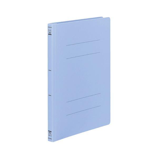 生活 雑貨 通販 (まとめ) コクヨ フラットファイル(PP) A4タテ 150枚収容 背幅20mm 青 フ-H10B 1パック(10冊) 【×10セット】