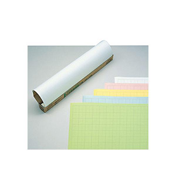 文具・オフィス用品関連 (まとめ) マス目模造紙(プルタイプ)788×1085mm クリーム マ-21C 1ケース(20枚) 【×5セット】