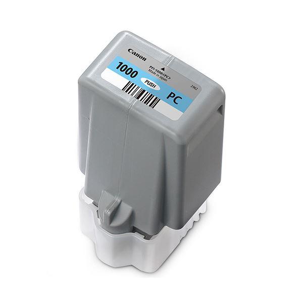 パソコン・周辺機器 PCサプライ・消耗品 インクカートリッジ 関連 インクタンクPFI-1000PC フォトシアン 80ml 0550C004 1個