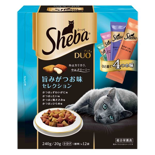 猫用品 キャットフード・サプリメント 関連 (まとめ買い)旨みがつお味セレクション 240g【×12セット】【ペット用品・猫用フード】