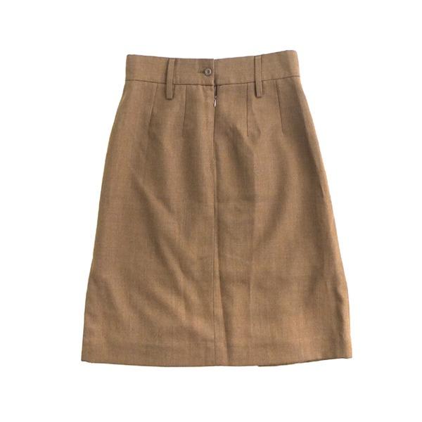 ウェア レインウェア 関連 イギリス軍放出ドレススカート ブラウンデットストック 84cm
