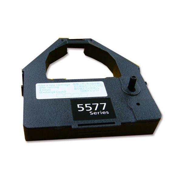 パソコン・周辺機器 関連 (まとめ)インクリボンカートリッジ 黒38F5765 1本 【×5セット】