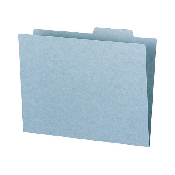 文具・オフィス用品関連 (まとめ)個別フォルダー(カラー・エコノミータイプ) A4 青 A4-SIFN-B 1パック(10冊) 【×10セット】