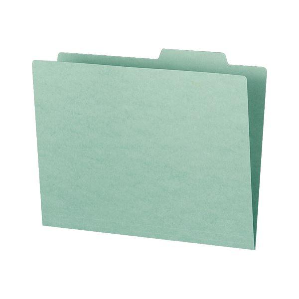 収納用品 マガジンボックス・ファイルボックス 関連 (まとめ)個別フォルダー(カラー・エコノミータイプ) A4 緑 A4-SIFN-G 1パック(10冊) 【×10セット】