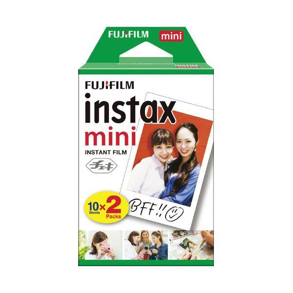 (まとめ)チェキ フィルム10枚×2 INSTAX MINI JP 2【×10セット】