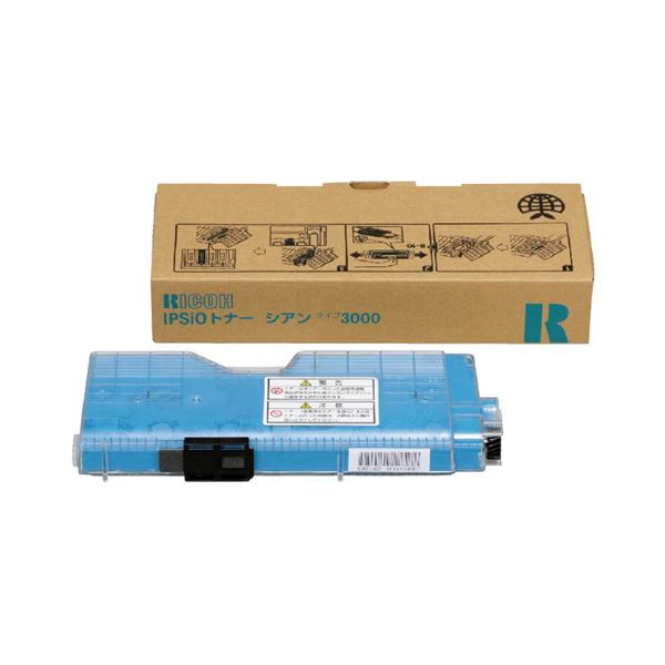 パソコン・周辺機器 PCサプライ・消耗品 インクカートリッジ 関連 IPSiO トナータイプ3000 シアン 509238 1個