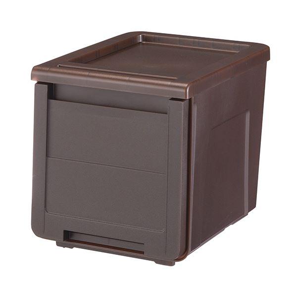 日用品・生活雑貨 関連 (まとめ) カバゾコ30 深型クリアブラウン カバゾコ30フカCBR 1個 【×5セット】
