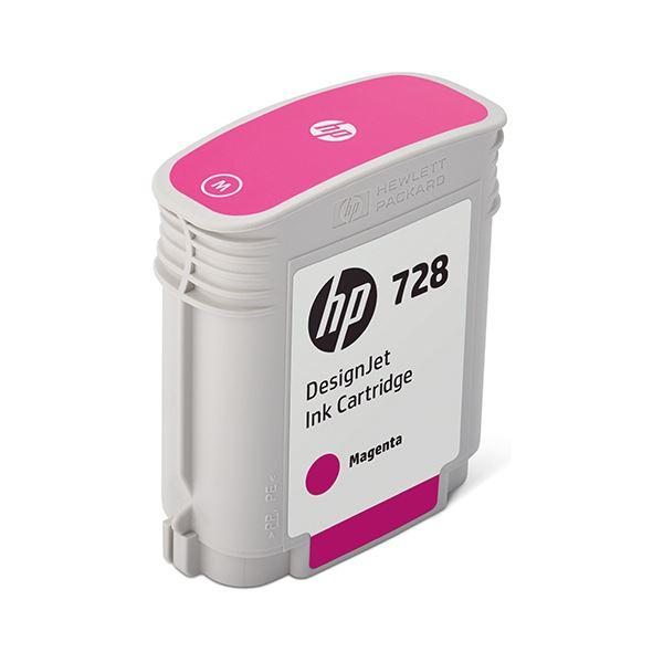 パソコン・周辺機器 PCサプライ・消耗品 インクカートリッジ 関連 HP728 インクカートリッジマゼンタ 40ml F9J62A 1個