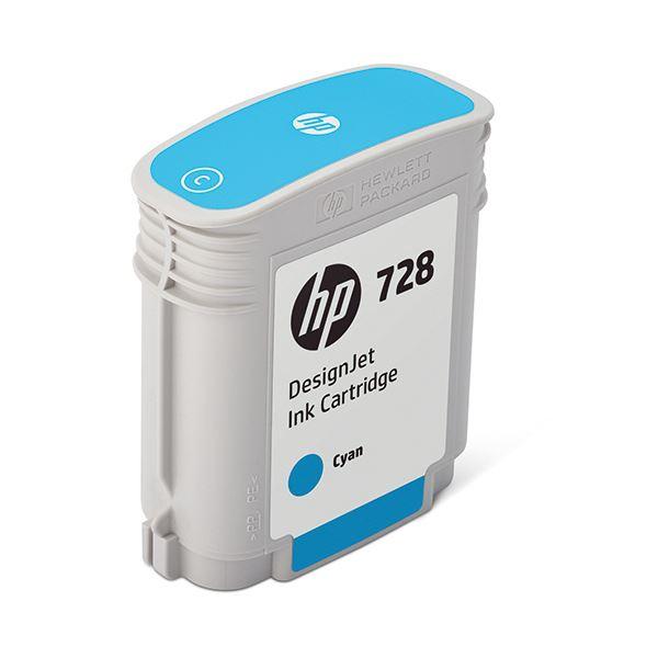 パソコン・周辺機器 PCサプライ・消耗品 インクカートリッジ 関連 HP728 インクカートリッジシアン 40ml F9J63A 1個