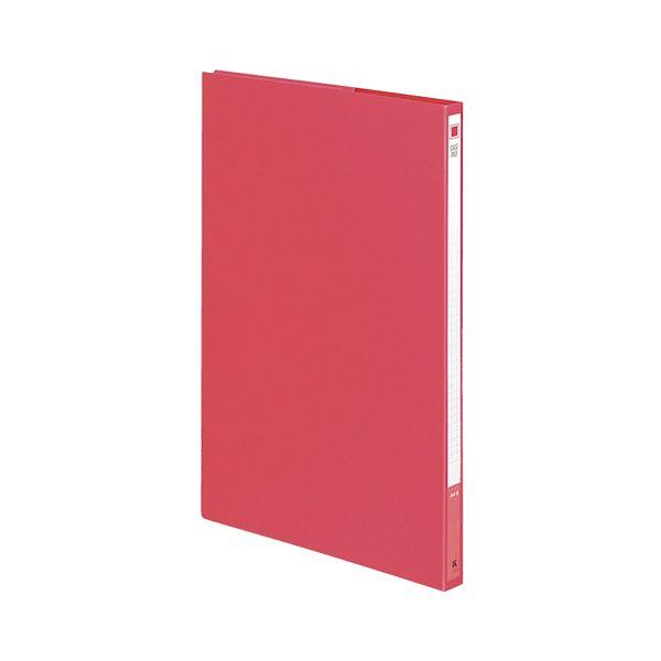 収納用品 マガジンボックス・ファイルボックス 関連 (まとめ)ケースファイル A4タテ背幅17mm 赤 フ-900NR 1冊 【×30セット】