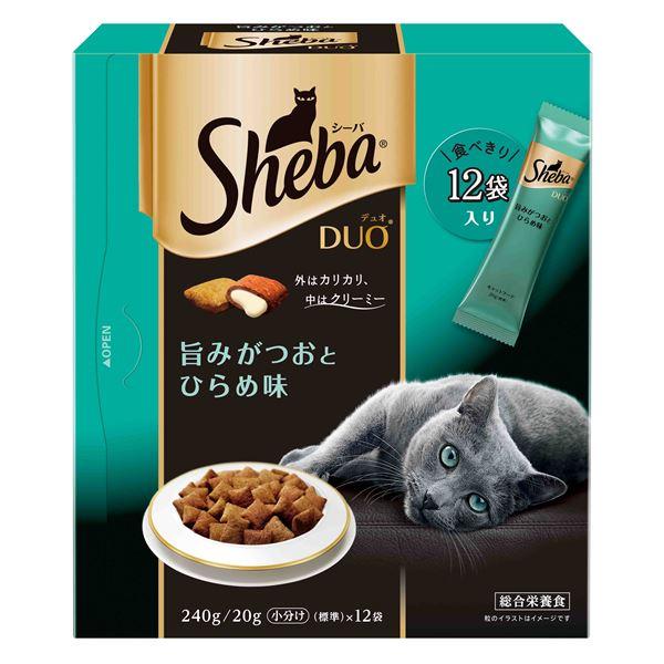 猫関連 (まとめ)シーバ デュオ 旨みがつおとひらめ味 240g【×12セット】【ペット用品・猫用フード】