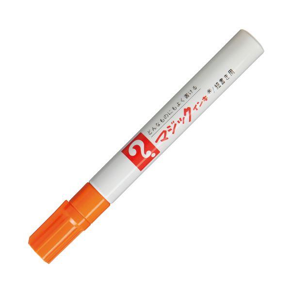 ペン・万年筆関連 (まとめ買い) 油性マーカー マジックインキNo.500(細書き用) 橙 M500-T7 1本 【×50セット】