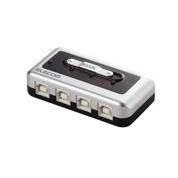 パソコン PCアクセサリー 切替機・分配器 HDMI切替器・分配器 関連 (まとめ買い)USB2.0対応切替器 4回路U2SW-T4 1台【×2セット】